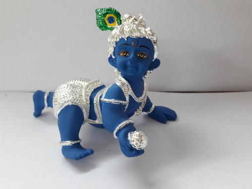 Silver Plated Bal Gopal