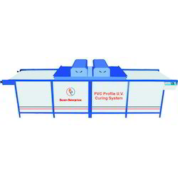 PVC Profile UV Coating and Curing Machine