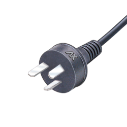 3 Pin Reverse Earthing Mains Cord For Europe (23/36 Swg)1.5