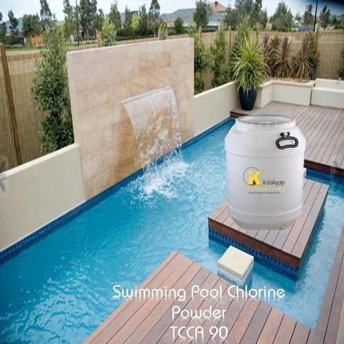 Swimming Pool Chlorine Powder Tcca 90