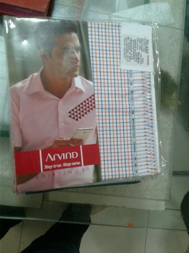 356b504a2 Arvind Shirt Piece at Rs 380  piece