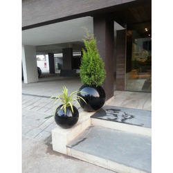 FRP/Fibre Glass Round Planter