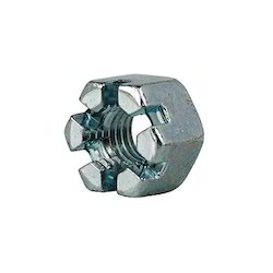 DIN 935 Hex Castle Slotted Nut