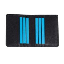 Custom Colour Promotional Leather Credit Card Holder In Soft Leather