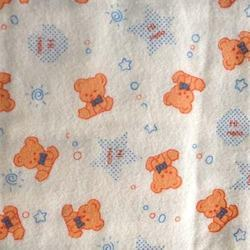 Nursery Print Flannel Fabric