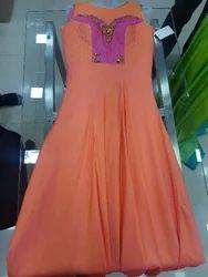 Banglore silk dress