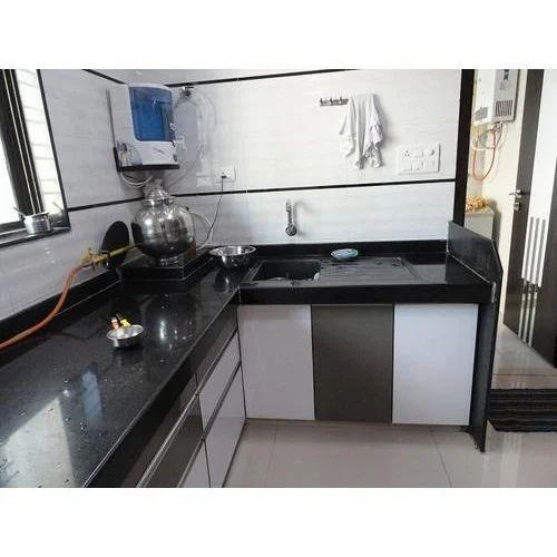 L Wooden Modular Kitchen Manufacturer: Manufacturer Of Modular Kitchens & Wooden Bed By Kumkum