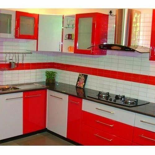 Modern Italian Modular Kitchens Rs 1100 Square Feet: Modular Kitchen At Rs 90000 /square Feet(s)