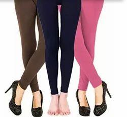 Plain Spandex Free Size Aariti Stretchable Leggings