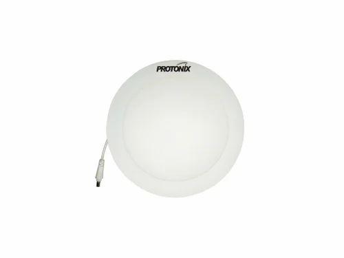 Ceramic And Chrome 9w LED Panel Round Light | ID: 14029282212