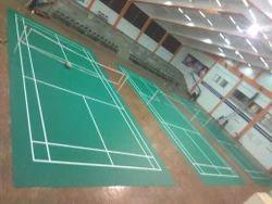 Badminton Synthetic Mat Court
