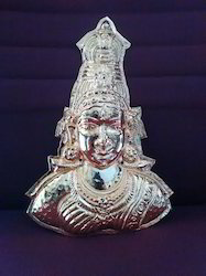 Gold Plated Mahalakshmi Matha Face