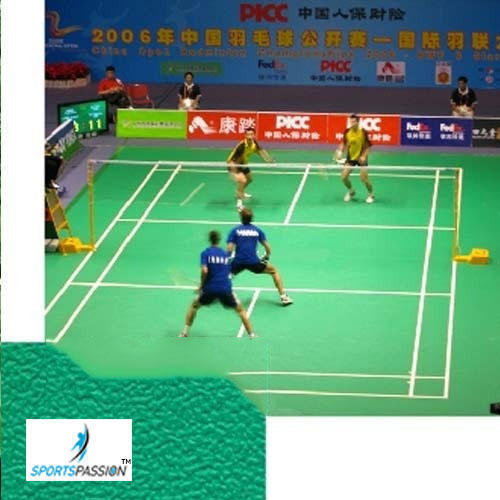 Outdoor Sports Court Badminton Court Surface