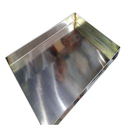 Steel Halwai Tray