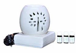Aroma Oil Round Diffuser Set