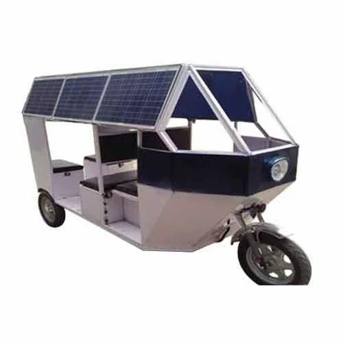 Solar E Rickshaw Soalr Auto Solar Auto Rickshaw Solar E