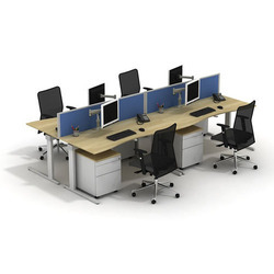6 Seater Desking Systems
