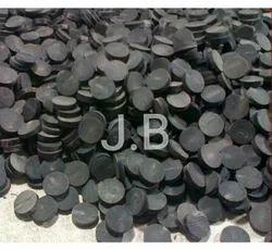 Black JB Buffalo Horn Buttons
