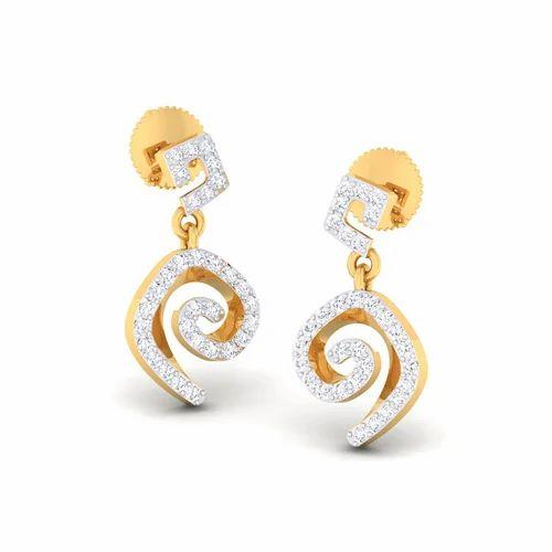 c5d2af3c2f359 Stylish Diamond Earrings