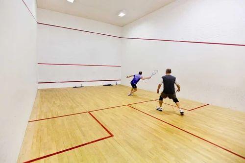Indoor Squash Court Flooring