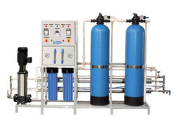 SS Powder coating Commercial and Industrial RO Plants Starts, Manual, Reverse Osmosis Unit