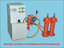 Double Acting Cylinder with Power Pack