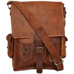 Genuine Leather Mac Book Backpack BP115
