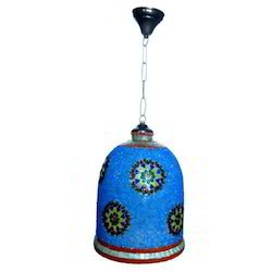 Glass Painted Lamp