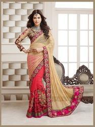 Wedding Embroidery Half Saree