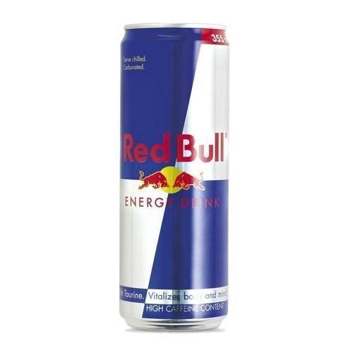 Red Bull Energy Drink - Red Bull, Red