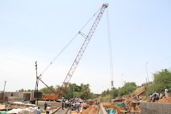 Supporting Cranes With Super Lift