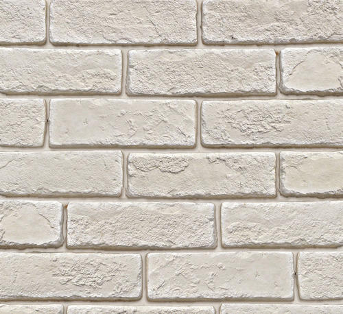 Brick Look White Clay Tile 10 12 Mm