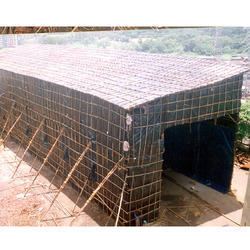 Tarpaulin Monsoon Sheds
