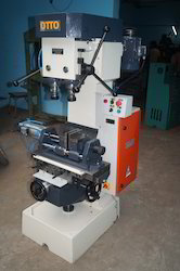 Double Spindle Drilling And Tapping Machine