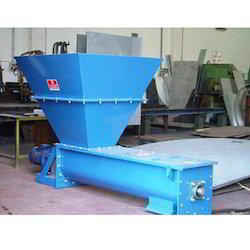 Bulk Material Handling Equipment - Screw Conveyor with Hopper