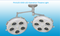 Led Ceiling Mounted Phililed Surgical Operation Theater Light, Features: Aluminium Body