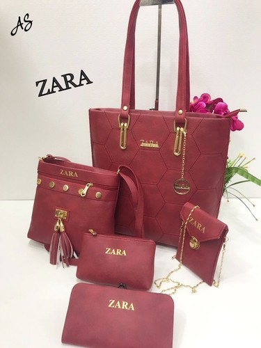 30cdadc2af4e0 ZARA PINK And RED Ladies Purse Combo, Rs 1050 /set, Padma Collection ...