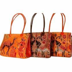 Leather Handicrafts Bag
