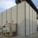 Sound Absorbing Noise Barrier Panels