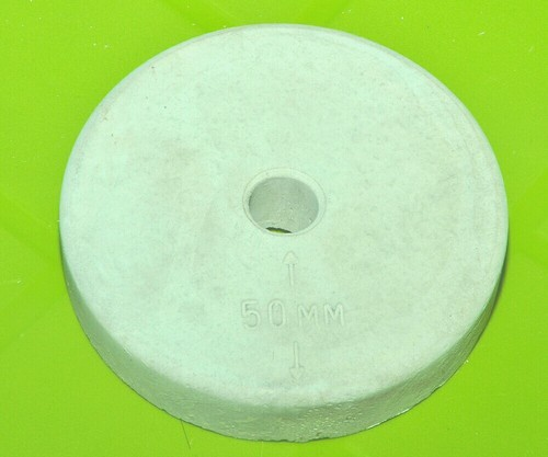50mm Circular Cover Block, Size: 50 Mm With 12 Mm Hole Total 112 Mm Dia