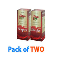 Pack Of Two Sibeplex Syrup Liver Tonic