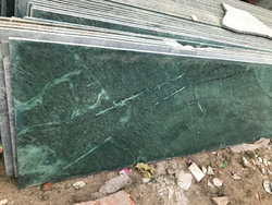 Green Kitchen Top Marble