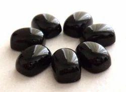 Black Onyx Cushion Cabochons Stone