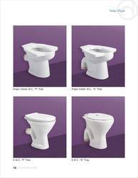 OSIS S And P EWC And Anglo Indian Water Closet, Size/Dimension: 36x24, for Bathroom Fitting