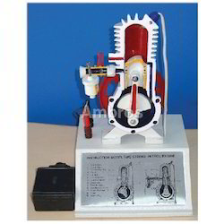 2 Stroke Petrol Engine Working Model