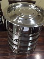 Stainless Steel Atta Box