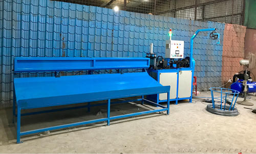 Global Wiron Semi Automatic Chain Link Fencing Machine