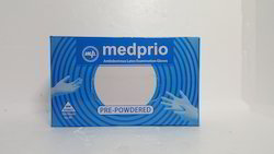 Latex White MEDPRIO-EXAMINATION GLOVES (IMPORTED QUALITY), Packaging Type: 100 Piece In 1 Box