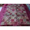 Designer Bed Cover Velvet Patchwork