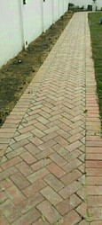 Red Bricks kerb cobble stone send stone paving lime Stone Quartz Stone For Flooring Hotel Residen